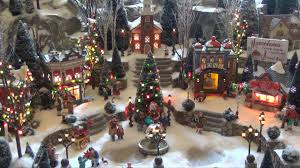 Animated Christmas Village Decorations by Christmas Villages U2013 Happy Holidays