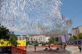 Second Hand Stores Downtown Los Angeles The Students Behind U0027liquid Shard U0027 U2013 A Dynamic Sculpture For