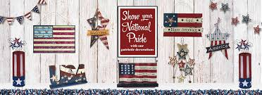 patriotic american decorations one holiday lane