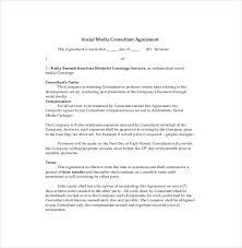 consultant agreement template u2013 11 free word pdf documents