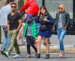 kelly ripa children pictures 2014 lola consuelos photos photos kelly ripa family out for lunch in