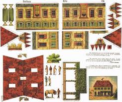 printable model house template 26 images of paper house template paper toys leseriail com