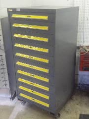 stanley 10 drawer rolling tool cabinet lotnut