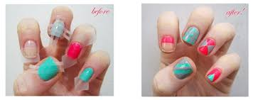 super easy and super awesome nail art hacks lifestyle fashion