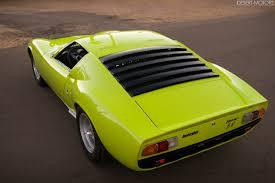 1967 lamborghini miura p400 sv conversion desert motors com