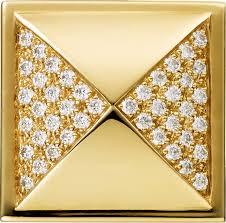 crt1220736 clou de paris decor cufflinks solid yellow gold