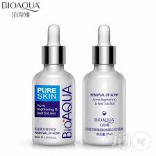 Serum Acne bioaqua skin acne removal serum guaranteed acne solution for