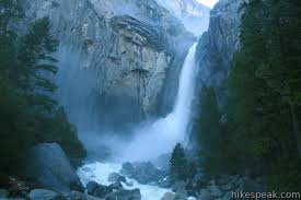 Nevada waterfalls images Lower yosemite fall trail yosemite jpg