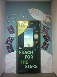 Outer Space Decorations Space Theme Classroom Door The Eibi Pinterest Space Theme