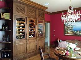 build your own refrigerated wine cabinet custom vigilant wine cabinet makes for a sophisticated home dining space
