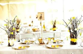 cheap table centerpieces yellow table decoration ideas table decorations awesome table