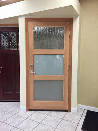 simpson 7403 contemporary thermal exterior door sound view