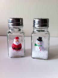 diy dollar store anthropologie inspired salt shaker snow globe