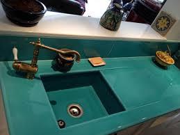 lave cuisine cuisine en de lave émaillée couleur bleu de chine à bandol