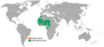 Ivory Coast Map Emerge Film Solutions