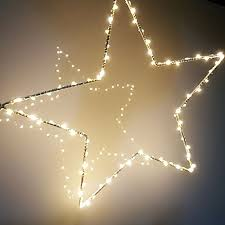 battery operated star lights led star curtain lights 2 sets battery copper wire light string