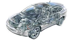 lexus rx 400h hybrid fuel consumption photo the lexus rx 400h cutaway lexus enthusiast