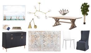 dream dining room design board
