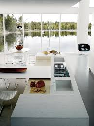 contemporary kitchen laminate wooden island h 72 75 mt