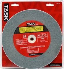 task tools t35945 8 inch by 1 inch silicon carbide bench grinding