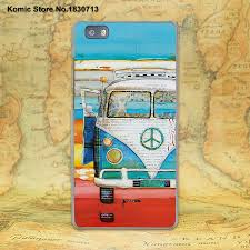 volkswagen van transparent retro summer volkswagen bus beach art design hard transparent