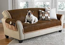 leather chair covers sure fit slipcovers is ruff pet proof your decor