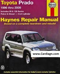 free download parts manuals 1996 toyota land cruiser parking system toyota land cruiser prado 1996 2009 haynes service repair manual
