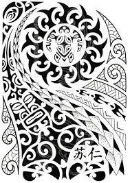 Polynesian Art Designs 352 Best Maori Tattoo Images On Pinterest Polynesian Tattoos