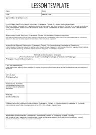 44 free lesson plan templates common core preschool weekly templa