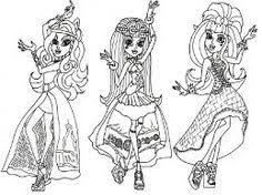 monster high pets coloring pages free monster high 13 wishes