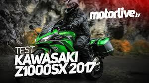 kawasaki z1000 sx 2017 test motos especiais pinterest