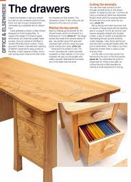 Desk Plans Woodworking Twin Pedestal Desk Plans U2022 Woodarchivist