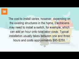 labor cost to replace light fixture how much does it cost to have an electrician install a light fixture