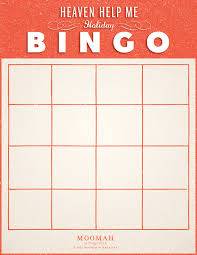 heaven help me holiday bingo moomah the magazine