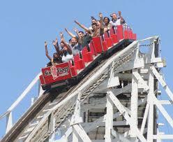 Six Flags Boston The Wild One Roller Coaster Wikipedia