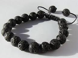 black bead bracelet ebay images Mens shamballa bracelet ebay JPG