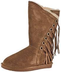 womens paw boots size 11 amazon com bearpaw womens kathy winter boot mid calf