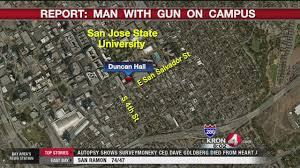 san jose state map duncan clear sjsu cus following unconfirmed report of gunman