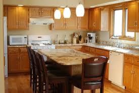 Honey Oak Kitchen Cabinets Wall Color Honey Oak Cabinets With Granite Roselawnlutheran