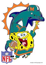 spongebob miami dolphins by bubbaking on deviantart