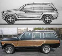 jeep grand wagoneer concept jeep grand wagoneer concept in sketch