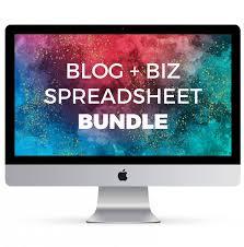 Imac Spreadsheet Biz Spreadsheet Bundle The Spreadsheet Alchemist