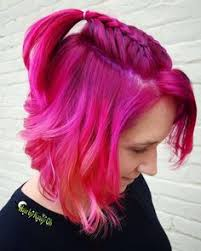 whats new cherry bomb hair lounge hair salon and hot pink magenta hair goldwell elumen hair by steve juju hair