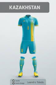 Blue And Yellow Cross Flag European Soccer Jerseys On Behance