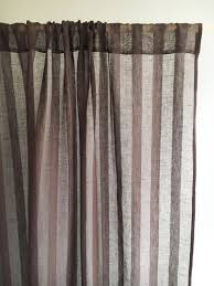 102 wide curtain panel linen curtain brown curtains sheer
