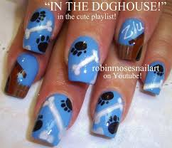 86 best blue nail art tutorial u0026 videos by nded images on