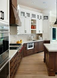 two color kitchen cabinets ideas 2 color kitchen cabinets cabinets shelving cabinet stain colors