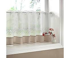 love half curtain for kitchen window kitchen ideas pinterest
