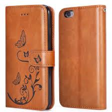 leather women s wallet pattern waterfox iphone 7 wallet case with detachable slim case women s