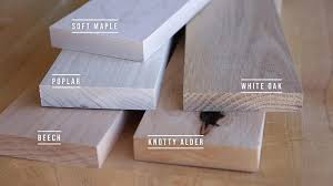 what is the best wood to use for cabinet doors 5 hardwoods better than pine for new woodworkers
